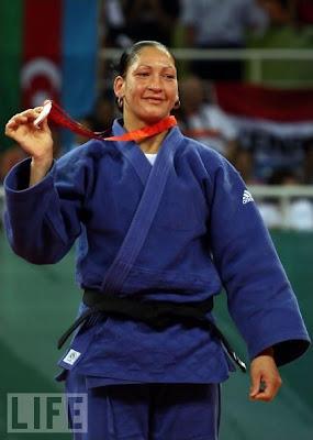 Yalennis Castillo, plata en judo