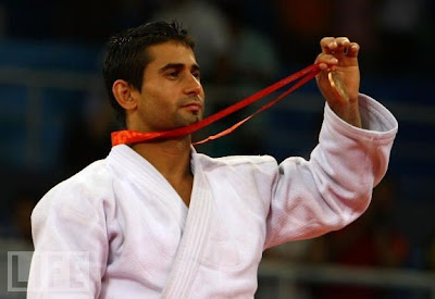 Yordanis Arencibia, bronce en judo