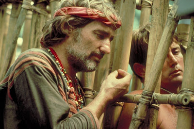 Dennis Hopper y Martin Sheen en Apocalise Now (1979)