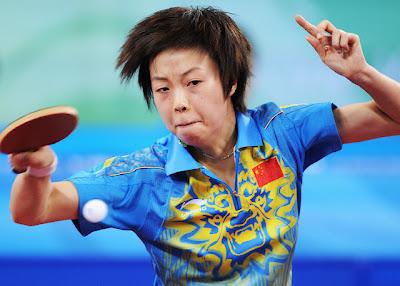 Zhang Yining - Tenis de Mesa