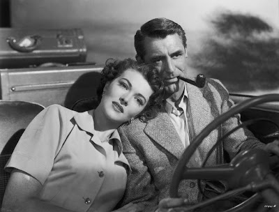 Cary Grant y Paula Raymond en Crisis (1950)