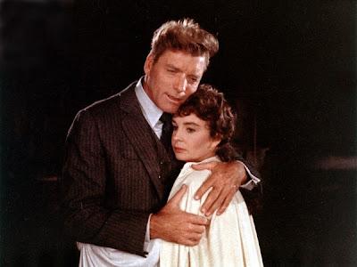 Burt Lancaster y Jean Simmons en Elmer Gantry (1960)