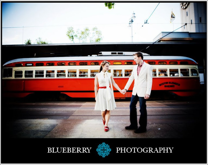 Wonderful engagement session san francisco ferry building