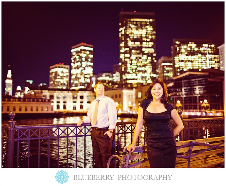 San Francisco pier engagement session photographer