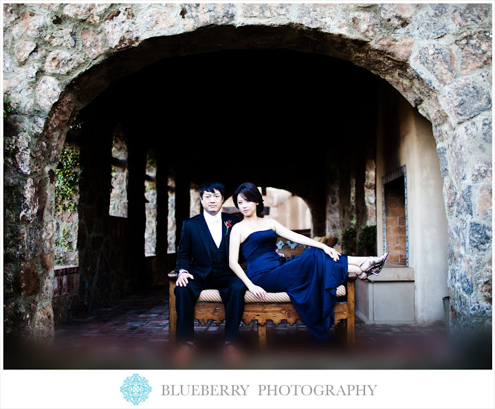 wedding portrait wine country