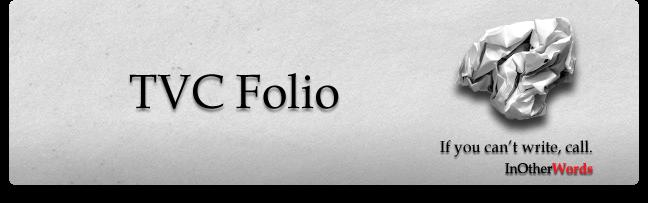My TVC Folio