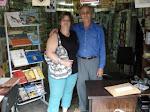 Eu e Gonçalo Ferreira da Silva, ex-presidente da Academia Brasileira de Literatura de Cordel.
