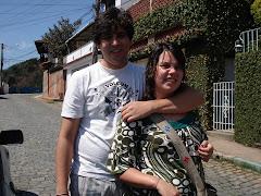 Filha e namorado