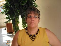 Este colar foi um presente de uns amigos Pataxós. Ele é tão lindo que resolvi dividir com vocês.