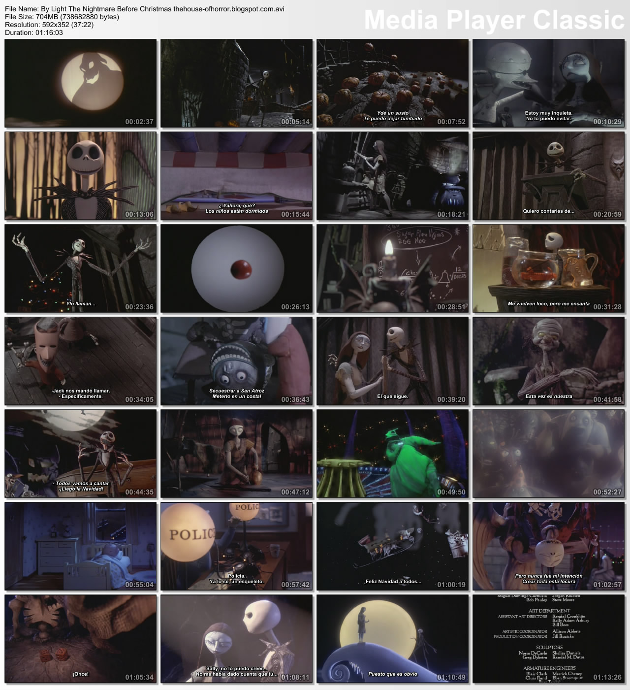 The nightmare before christmas dvdrip xvid dts dragonripper624 ...