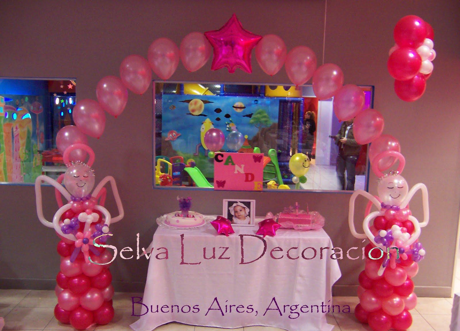 Selva Luz decoración con globos.Buenos Aires Argentina.