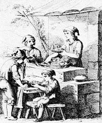 Venditore di Maccheroni nell'antica Napoli