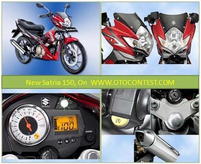 New Satria 150 - Modifikasi Motor