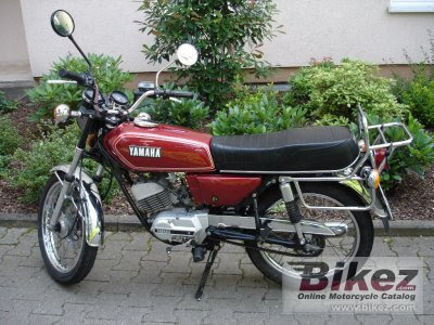 1981 Yamaha RS 100 pictures