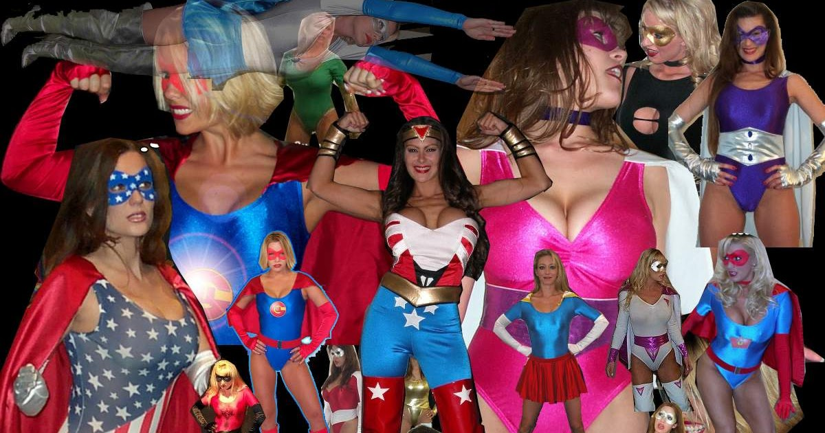 superheroine central