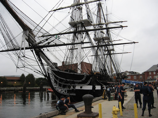 USS Constitution--Bows On View