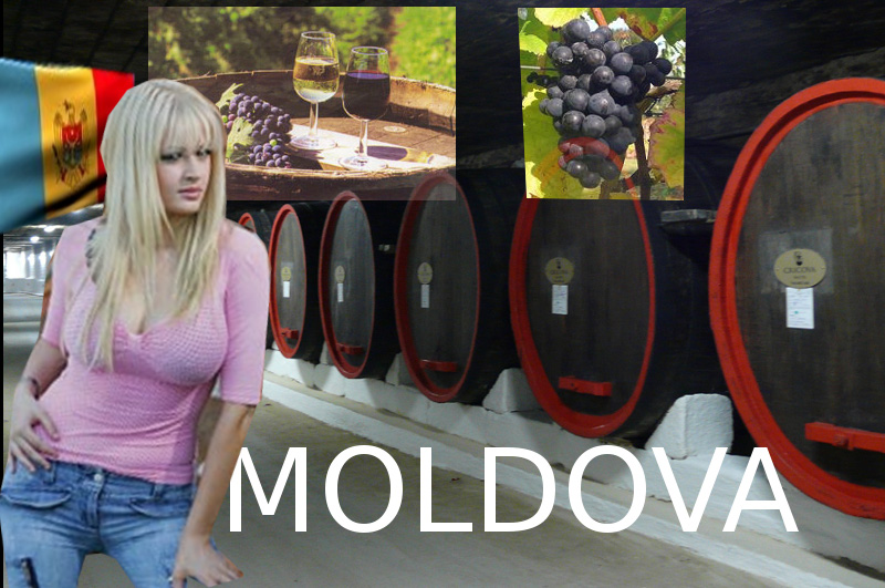 Moldova wine grave friendly girl
