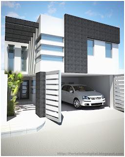 Proyectos arquitectonicos y dise o 3 d remodelacion casa for Casa habitacion minimalista