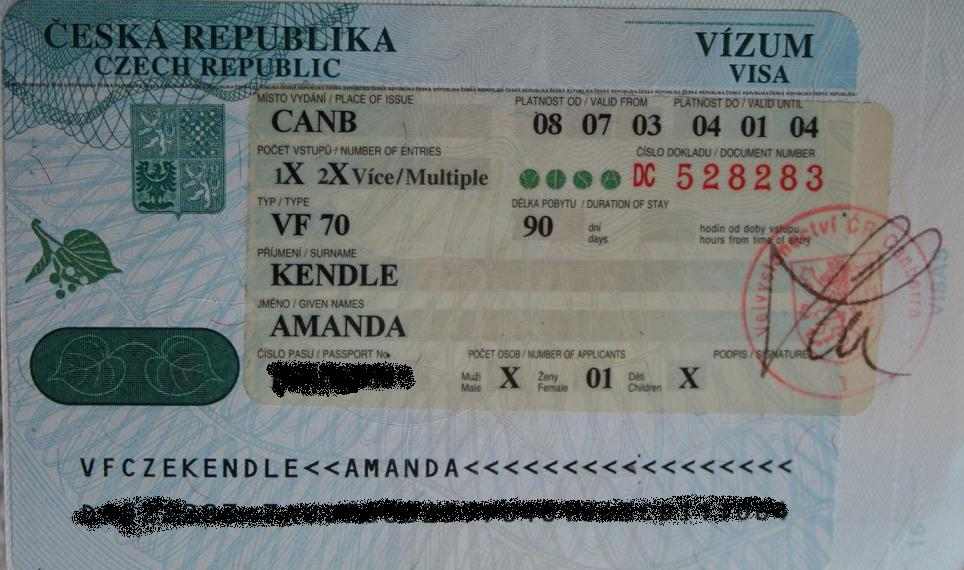 Passport pirouette the czechslovak visa saga not a ballerina passport pirouette the czechslovak visa saga ccuart Images