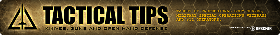 FREE Tactical Tips - KNIVES, GUNS and OPEN HAND Defense