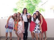 Este maravilloso grupo de chicas. se preparó durante unos meses