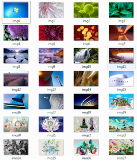 Pack de Wallpapers oficiales de Windows 7