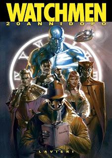 Tapa de la edición de lujo de 2005 de los 12 volúmenes de Watchmen