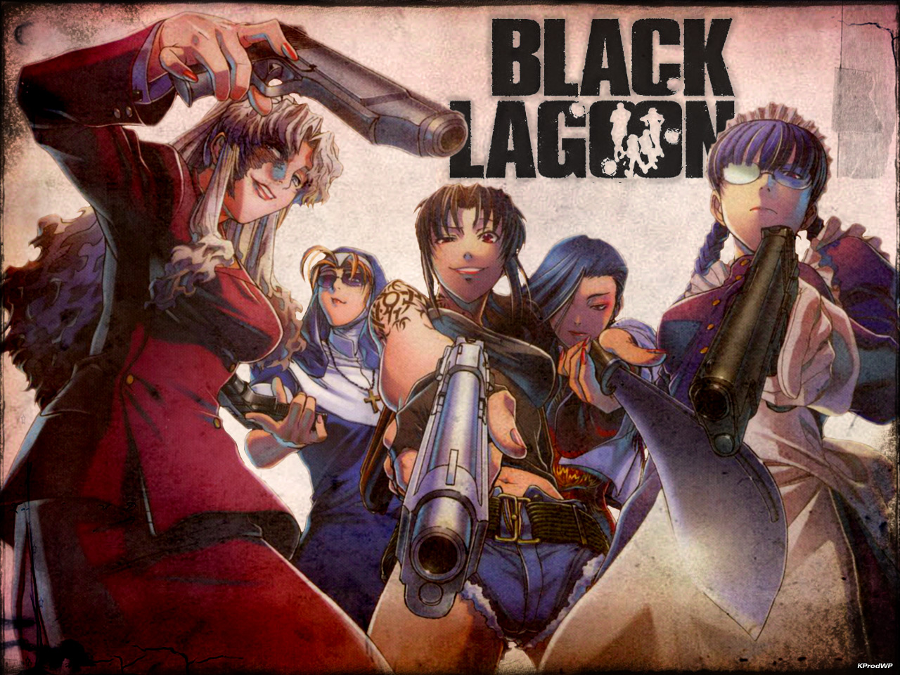Read And Download Manga For Free: Black Lagoon Wallpapers