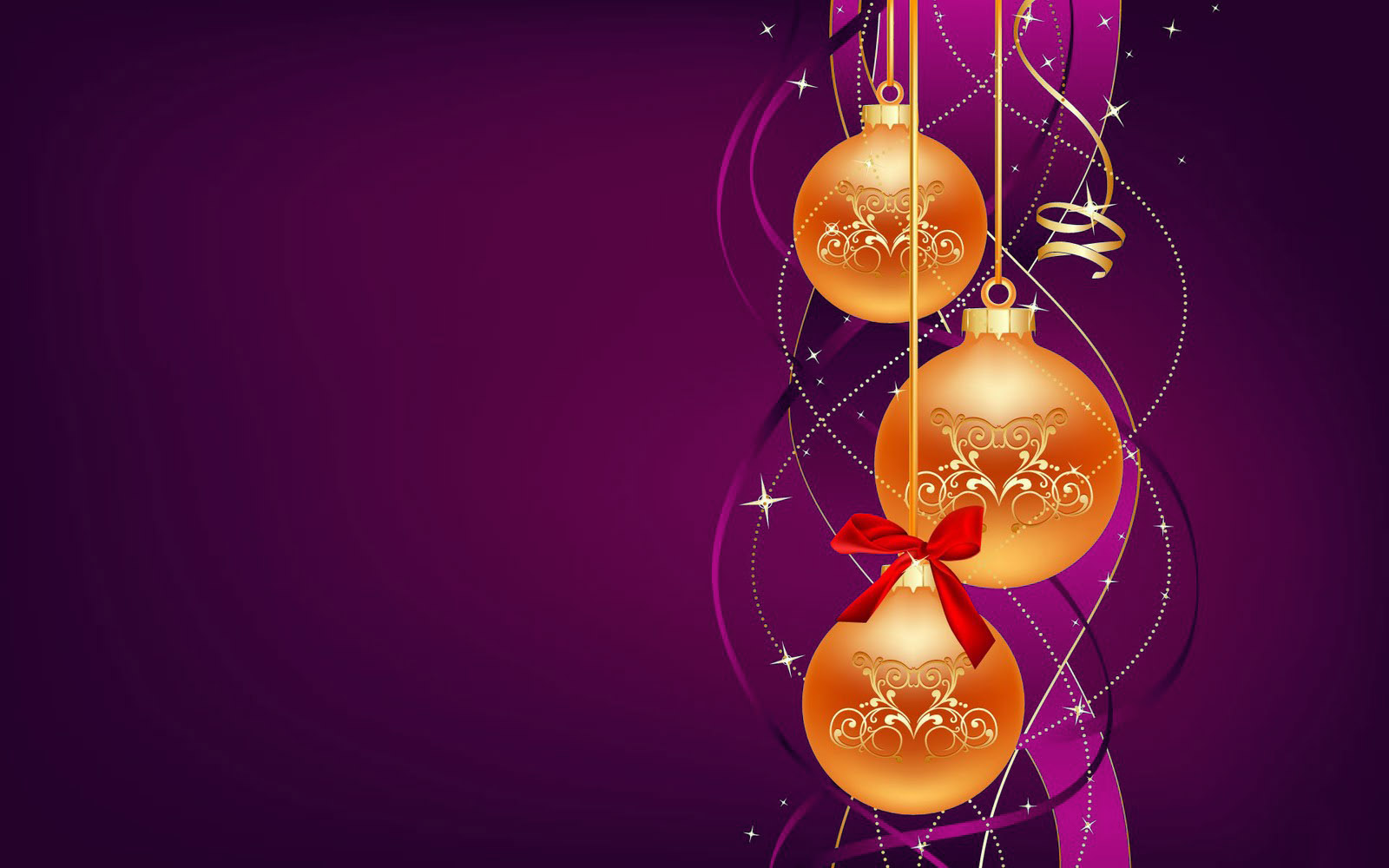 Christmas Baubles Wallpaper | wallpaper