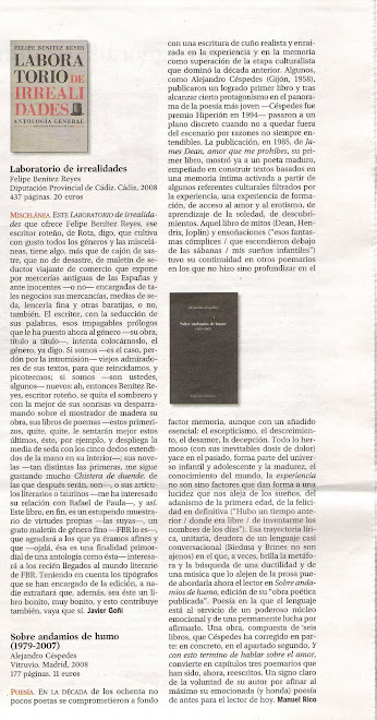 Crítica: El País -  BABELIA - por Manuel Rico
