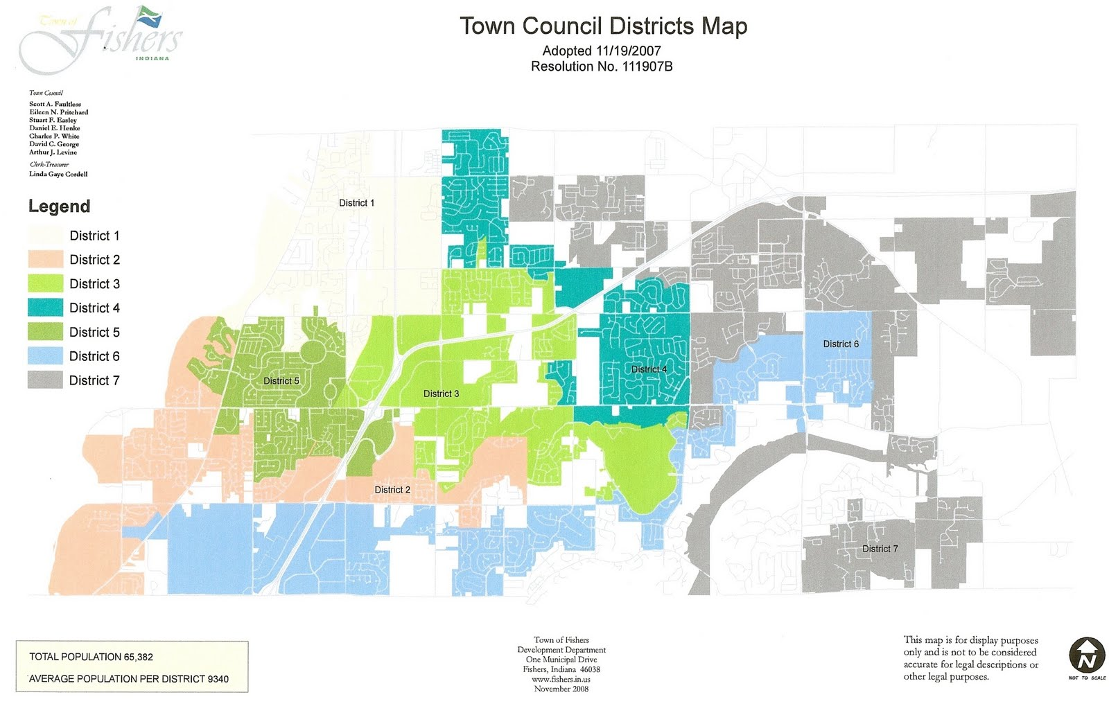 the map to accommodate the moves of the council members within the town but out of their original districts how else does a town get to a map that