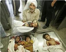 13 GENNAIO 2009  SONO 235 I BAMBINI MORTI NELLA GUERRA DI GAZA
