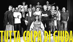 """LOCANDINA DEL FILM COMICO-BLASFEMO """" TUTTA COLPA DI GIUDA"""""""