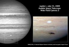 Asteroide su Giove - Hubble invia le prime immagini