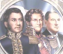 San Martin, Rosas y Perón