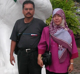 My husband and I when we were in Kuching