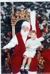 Joshy and Santa