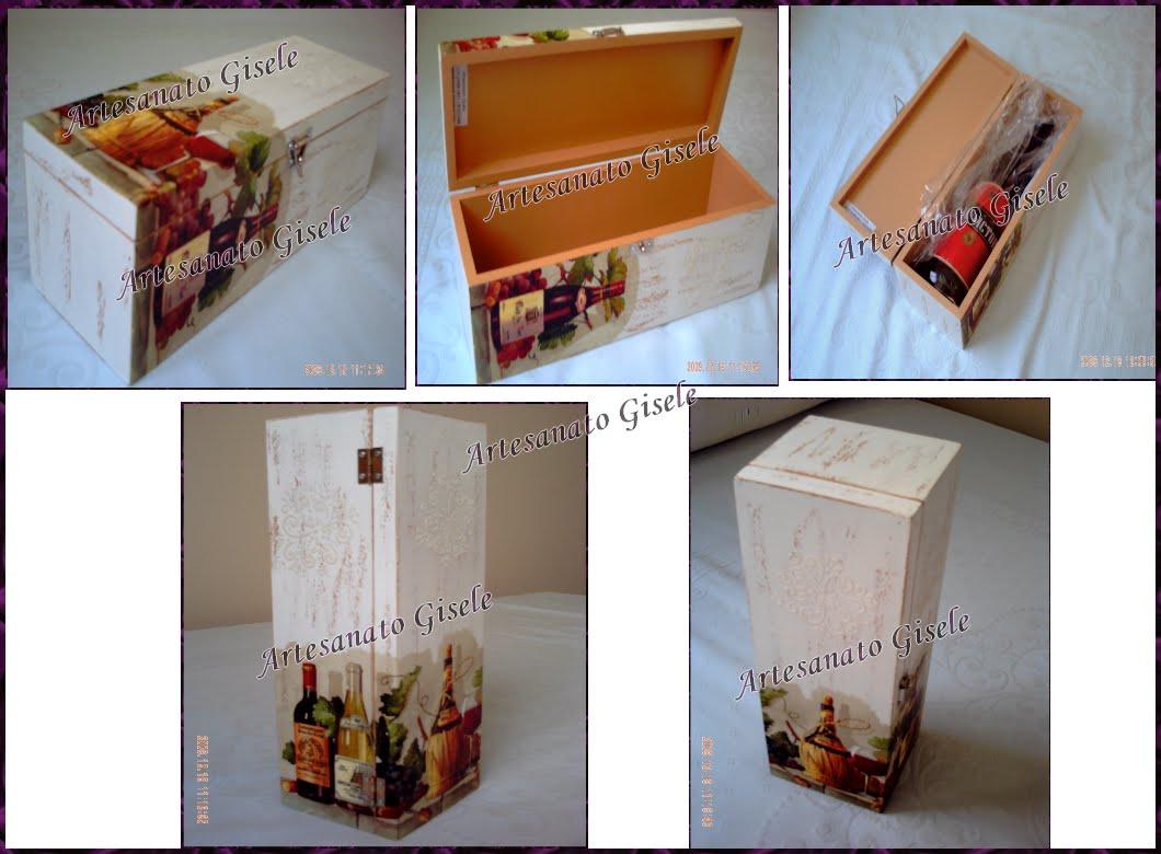 código 219 caixa de vinho em mdf para garrafa de 800ml tamanho  #7D401A 1060x780