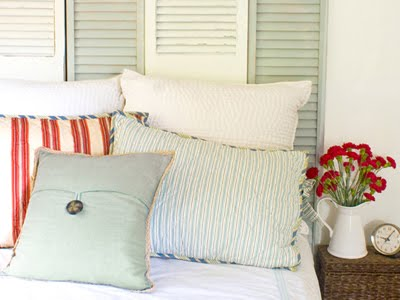 DIY Shutter Headboard Project