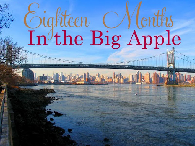 18 Months in the Big Apple