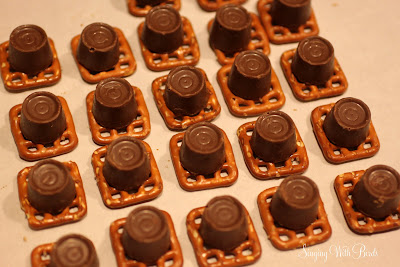 Caramel Pretzel Treats