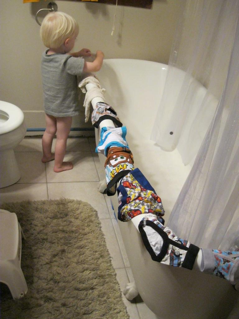 potty schooling izzy