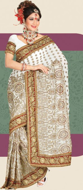 Costliest Wedding Sarees for Bride, Designer Saree Pictures Online