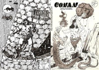 Desenho Conan bárbaro