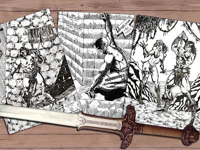 Desenhos do Conan bárbaro