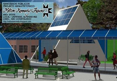 Projeto: sanitários públicos