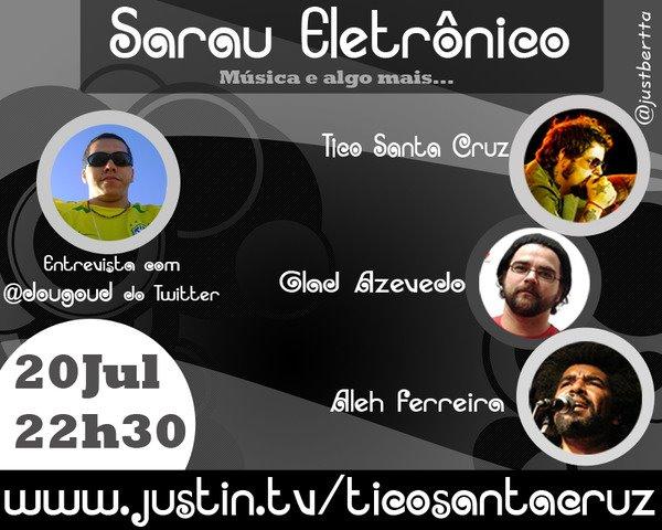 Sarau Eletrônico 20/07