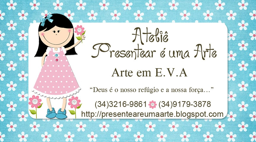 Muitas vezes Presentear e Ensinar é Uma Arte!!: Cartão de visita e selinho  HJ71