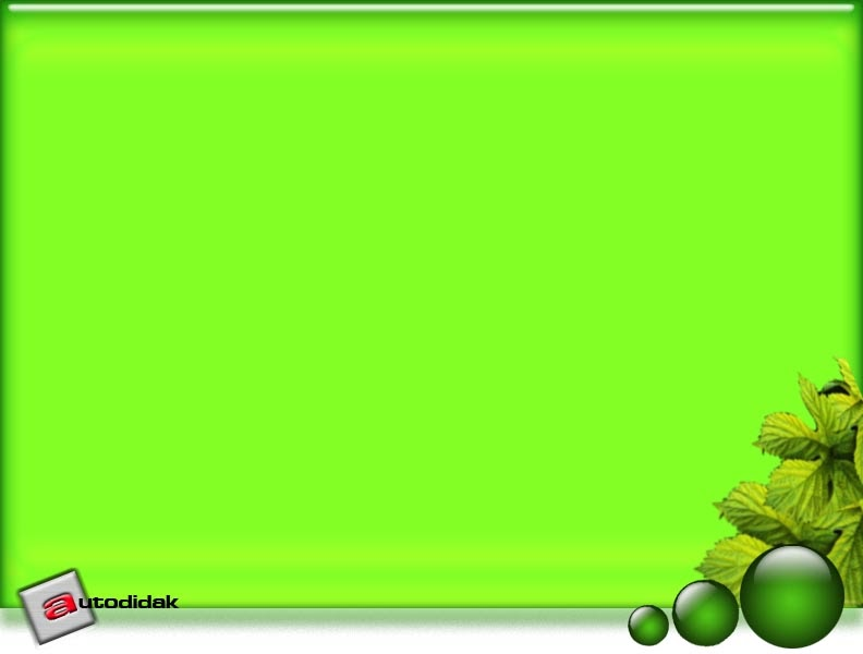autodidaks green leaf theme for powerpoint templates. Black Bedroom Furniture Sets. Home Design Ideas