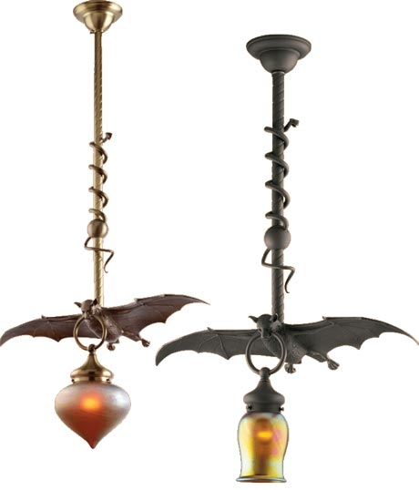Beautiful Halloween Bat Lights Skeletons Reaching From